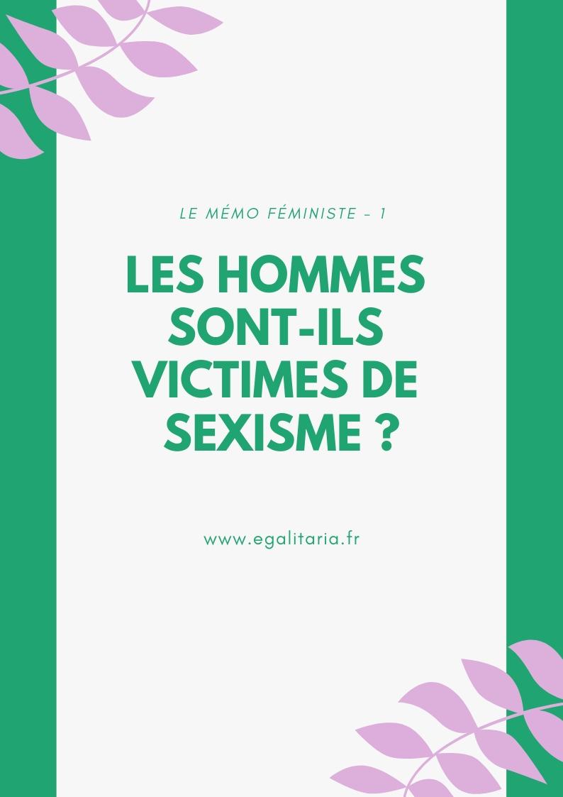 IMAGE ARTICLE SEXISME HOMMES